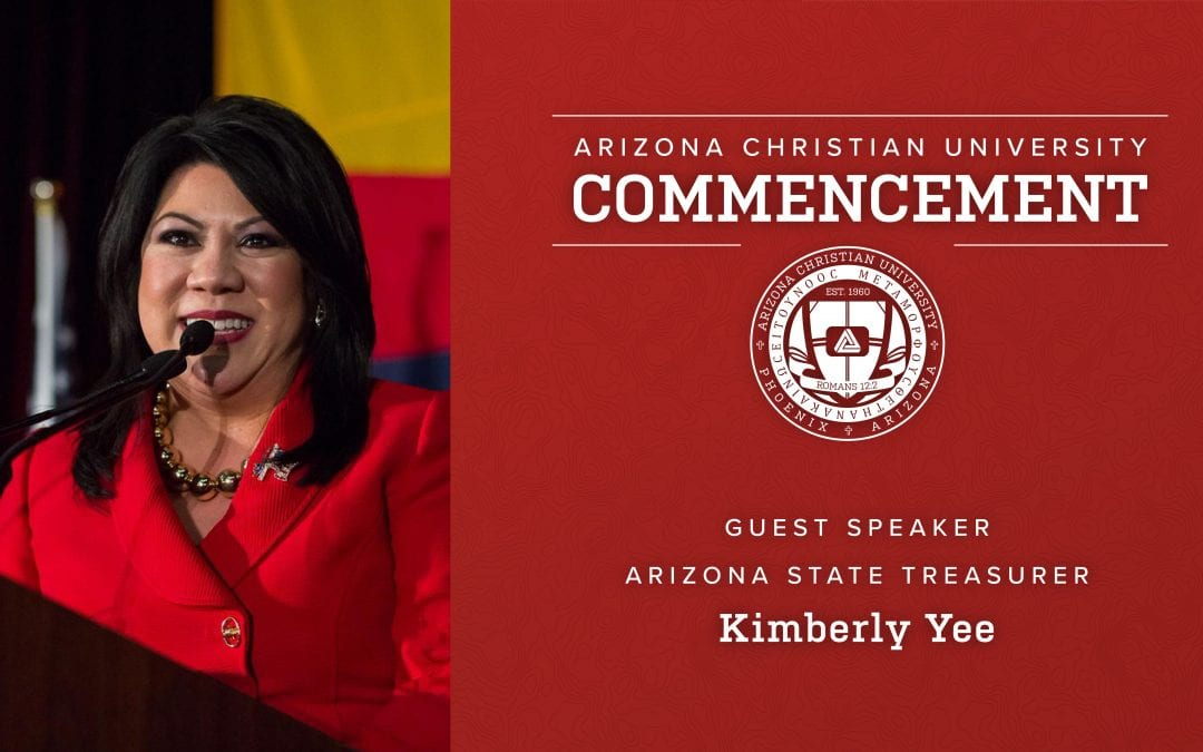 Arizona State Treasurer Kimberly Yee to Deliver Spring Commencement Address