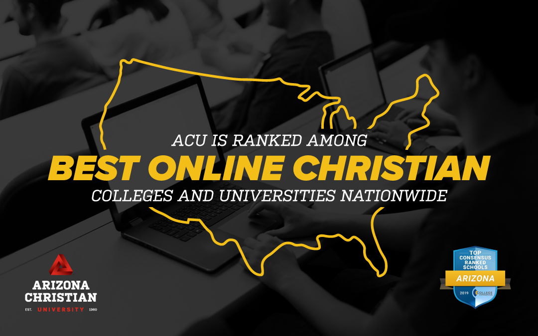 ACU is ranked among Best Online Christian Universities nationwide