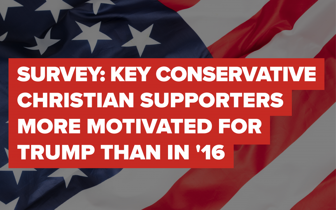 "ELECTION SURVEY: Conservative Christian Supporters More Motivated for Trump Than in '16; Most Polls ""Off 4-8 Points,"" Says Barna"