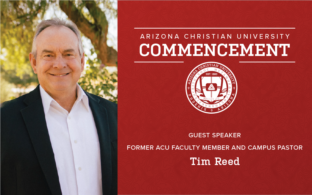 Former ACU Faculty Member and Campus Pastor Tim Reed to Deliver 2020 Commencement Address