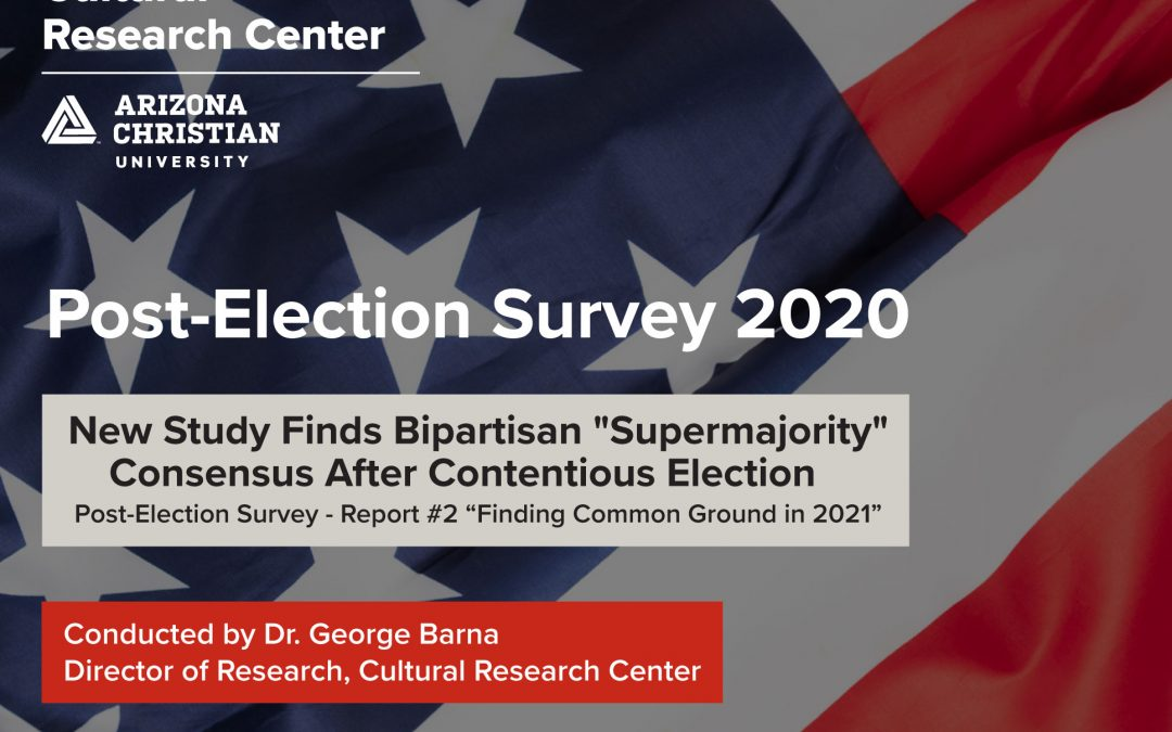 "CRC POST-ELECTION SURVEY: Bipartisan ""Supermajority"" Finds Common Ground on Key Policies Despite Contentious Election"