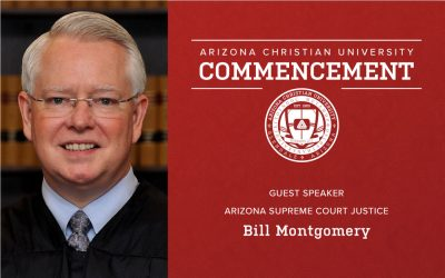 Arizona Supreme Court Justice Bill Montgomery to Deliver 2021 Commencement Address