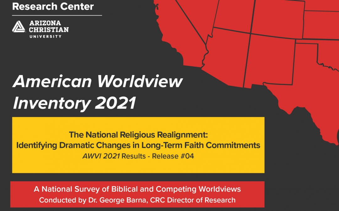 Declining Christianity Leads to Dramatic US Religious Realignment, CRC Study Finds