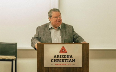 """ACU Hosts An Evening with Dr. Mark Bailey: """"The Gospels in the Modern Age."""""""